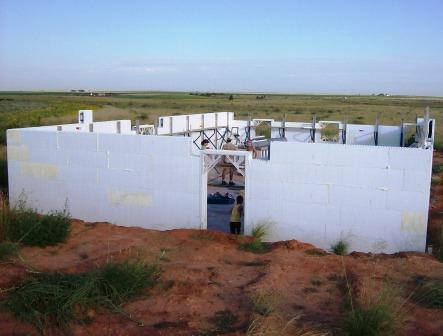 ICF Walls Completed!